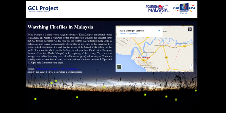 Firefly HTML5 Animation